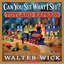 Can You See What I See?: Toyland Express : Picture Puzzles NEW with FREE SHIP