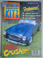 Which Kit? Oct 1992 Sumo Cobra,Jago, Lotus 47 replica