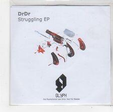 (FO303) DrDr, Struggling EP - DJ CD