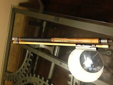 "MIKE MASSEY 58""  2 Pce Hardwood / Maple Pool Cue Stick 19 Oz R13 #5"