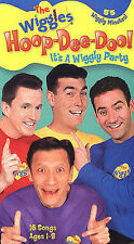 THE WIGGLES HOOP DEE DOO ITS A WIGGLY PARTY VHS TAPE
