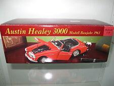 1:18 Austin Healey 3000 aus 1961, rot, in Eduscho OVP & NEU, Absolute RARität