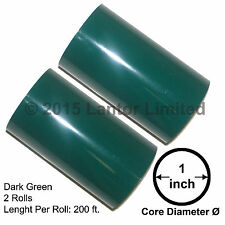 """Hot Stamp Foil Stamping Tipper Kingsey 2Rolls 3""""x200ft DarkGreen#YED-5950-S2-1""""#"""