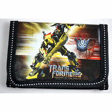 HOT Transformers Children's Kids Boys Coins Purse Wallet Bag Birthday Gift