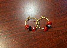 BEAUTIFUL 22K GOLD EAR RING FOR KIDS MADE OF 22K GOLD WIRE NEW