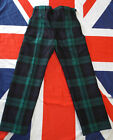 "ROYAL REGIMENT OF SCOTLAND DRESS TREWS - Waist: 29.5"" , British Army Issue"