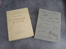 Romain Jules La douceur de vie Sauret Imprimerie Nationale numéroté beau livre