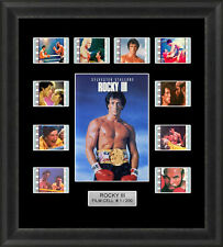 ROCKY 3 FRAMED FILM CELL MEMORABILIA SYLVESTER STALLONE FILM CELLS
