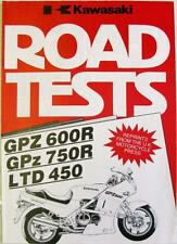 KAWASAKI GPZ600R/GPZ750R/LTD450 - Motorcycle Road Test Reprints - 1984/85