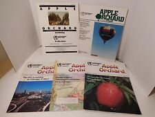 Apple Orchard Lot of 5 Early Issues 1980-81 Including Vol 1/No 1 Apple Computer
