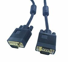6FT 15PIN VGA Male To Male Monitor Extension Cord Cable Black Buy 3 Get 1 Free