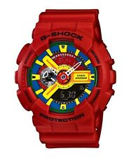 Casio G-Shock Red Analogue Digital GA-110FC-1A Mens Watch