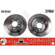 Bremsscheibe, 1 Stück TRW DF2582