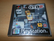 Grand Theft Auto 2 PS1 - Original Black Label - Brand New - Playstation Seal -