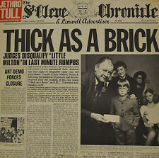 "THICK AS A BRICK - JETHRO TULL - NEWSPAPER - SPEZIAL COVER - RARE  LP 12"" (S438)"