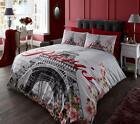 Duvet Cover Set With 2 Pillow Cases Bedding Quilt Cover Set All Sizes Paris FLR