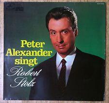 PETER ALEXANDER Peter Alexander singt Robert Stolz LP