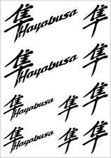 Suzuki Hayabusa Sticker Decals Vinyl Motorbikes, Motorcycle Helmet