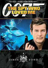 The Spy Who Loved Me (DVD, 2007)  Roger Moore  James Bond 007  OO7
