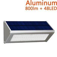 Solar Power 48 LED Security Bright Light Radar Motion Sensor Outdoor Garden Lamp