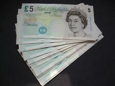 2012 CHRIS SALMON UNCIRCULATED FIVE POUND NOTE ELIZABETH FRY £5,  DUGGLEBY B407.
