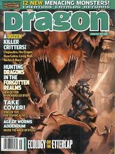 D&D d20 3rd Edition Dungeons & Dragon Magazine #343 Creature Catalog!