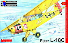 Kovozavody Prostejov 1/72 Model Kit 7264 Piper L-18C, W. Germany, Belgium, Lux