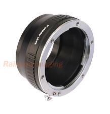 Leitz Leica R  LR Lens to Fujifilm FX Mount X-Pro1 X-E2 E-M1 X-A1 X-T1 Adapter