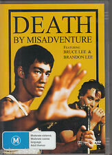 DEATH BY MISADVENTURE Bruce Lee DVD R4 - NEW
