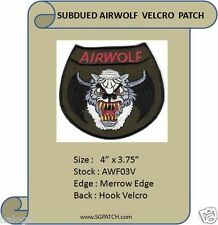 AIRWOLF VEL-KRO SUBDUED PATCH - AWF03V