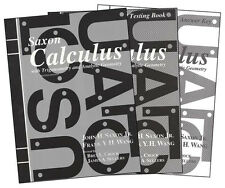 Saxon High School Calculus Homeschool Kit 2nd Edition - High School, NEW SEALED!
