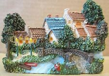 Lamplight Village Sculpted Magnet Thomas Kinkade Painter Of Light! New in Box!
