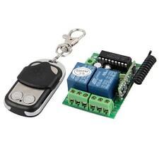 Télécommande Porte Garage Sans Fil + Transmetteur Maison Sécurité Portail Alarme
