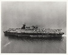 ATOMIC BOMB TEST USS INDEPENDENCE (CLV-22) ~ ARRIVING SAN FRANCISCO - 1943