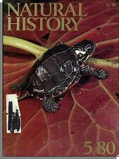 Natural History - 1980, May - Dirty River Turtles, Parasites, The Camel Corps