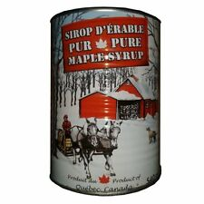 100% Pure Canadian maple syrup Canada Quebec home made Cans 541 ml wood fired