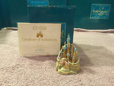 WDCC The Little Mermaid - Triton's Castle Ornament New in Box