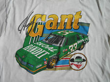 Vtg 90s Harry Gant Nascar Racing #33 Skoal Tobacco Bandit Car T Shirt L