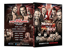 Official ROH Ring of Honor - Reach For The Sky UK Tour 2016 Leicester Event DVD