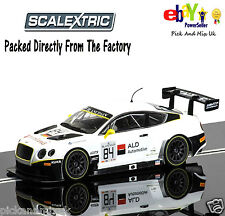 NEW IN  Scalextric Slot Car Bentley Continental GT3 - Blancpain Series 2015