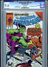 Amazing Spider-man Issue #312 Marvel Comics CGC 9.6 1989 Double Cover Error
