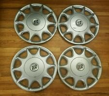 "Set of 4 OEM 1997-05 Buick Century 15"" Hubcaps Wheel Covers Caps GM p/n 9592348"