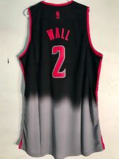 Adidas Swingman NBA Jersey WASHINGTON Wizards John Wall Black Fadeaway sz 2X