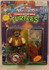 Teenage Mutant Ninja Turtles TMNT 1995 Adventurers Safari Michaelangelo Mike MOC