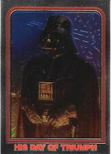 1999 Topps Star Wars Chrome Archives #51 His Day Of Triumph   Darth Vader