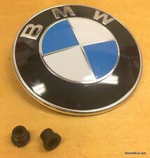 BMW Hood Emblem Z3 3.0 2.8 2.5 2.3 1.9 M Roadster Coupe Factory Part w/ Grommets
