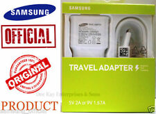 Original Samsung EP-TA20IWE 1.67A & 2.0A Adaptive Fast USB Charger + Micro Cable