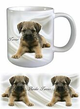 Border Terrier Dog Ceramic Mug by paws2print