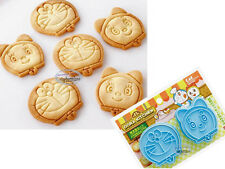 Japan Doraemon Cookie MOLD cutter Stamp MOULD kitchen home party boys girls lady