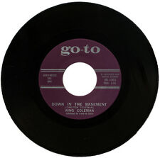 "KING COLEMAN  ""DOWN IN THE BASEMENT""  R&B / POPCORN CLASSIC  LISTEN!"